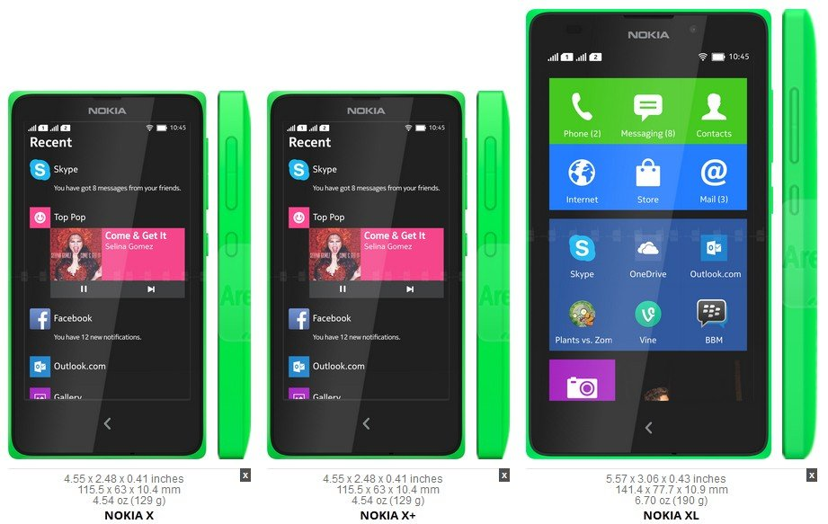 Nokia X - Ponsel Android Rasa Windows Phone | Gadgetren