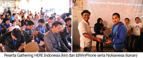 peserta HERE Indonesia