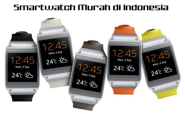 smartwatch murah di Indonesia