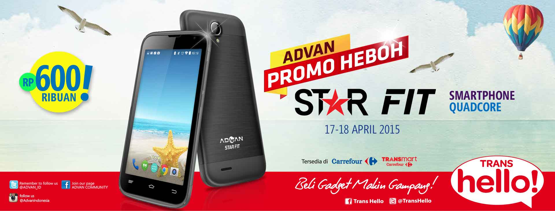 Advan Star Fit S45C