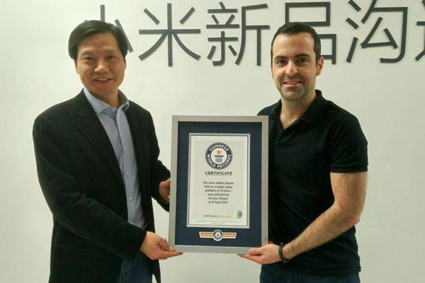 xiaomi guinness world record