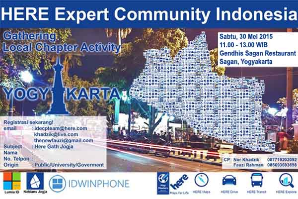 HERE Mini Gathering Yogyakarta header1