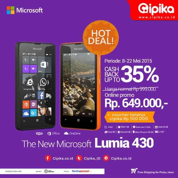 Lumia 430 promo