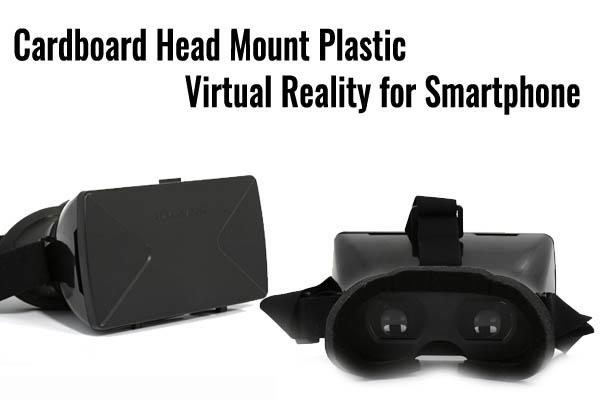 cardboard plastic VR