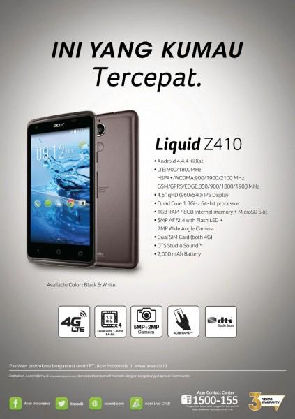 liquid z410