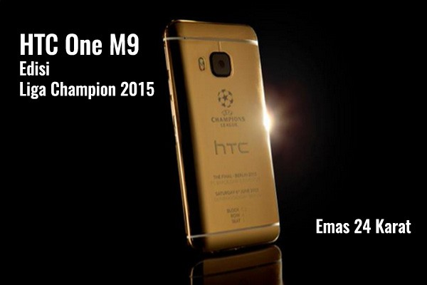 HTC One M9 Liga Champion 2015