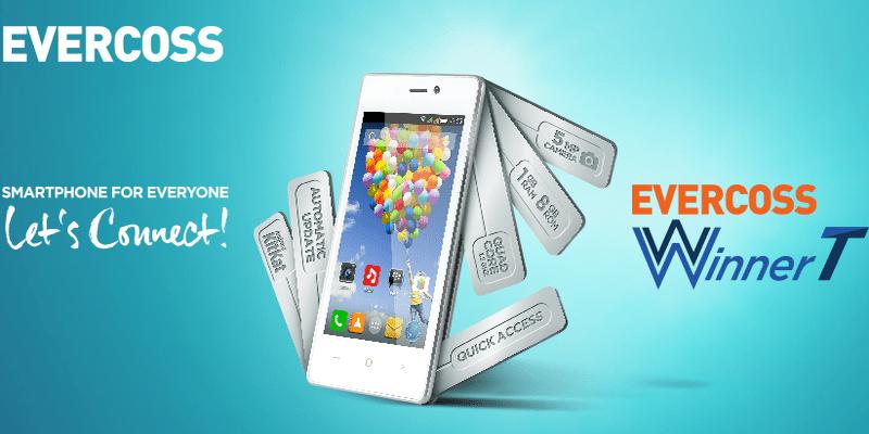 Evercoss Winner T Android Quad Core Dengan Harga Yang