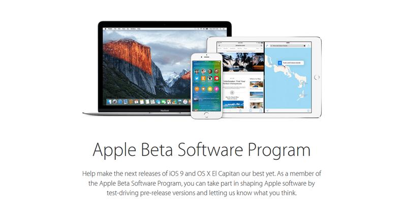 Apple-Beta-Program