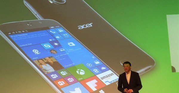 Acer Jade Primo Windows 10 Mobile