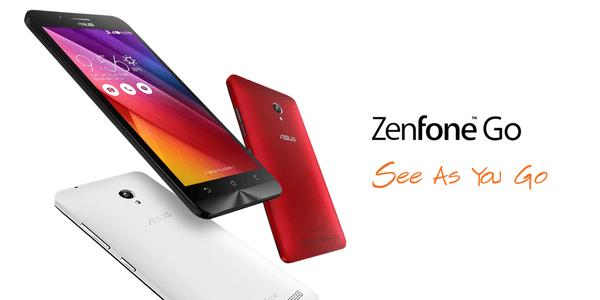 Asus ZenFone Go Header