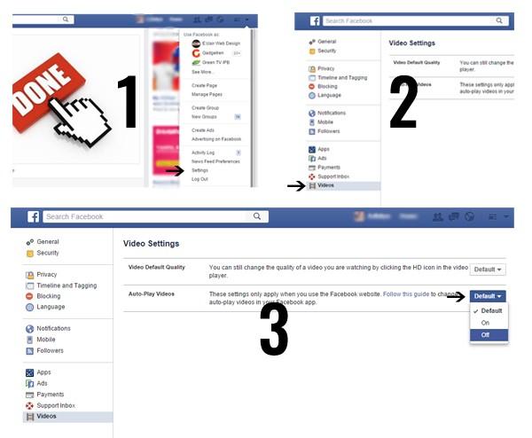 Skema Video Otomatis Facebook