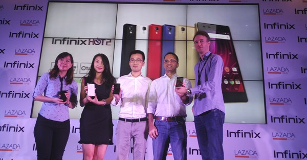 infinix hot 2 header