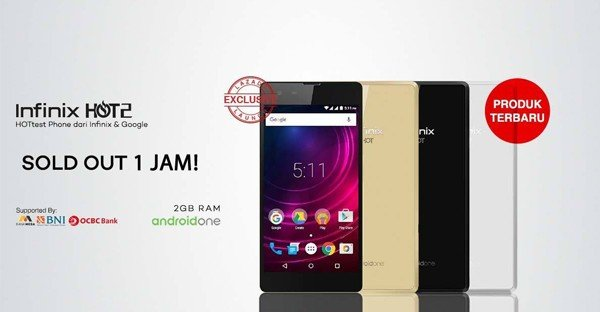 infinix hot 2 sold out