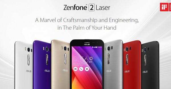 Asus Zenfone 2 Laser Header