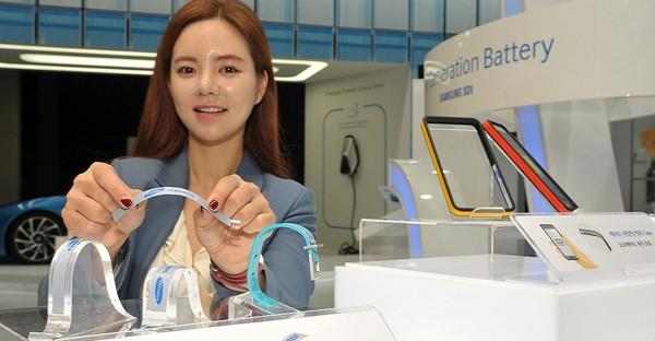 Baterai Lentur Samsung