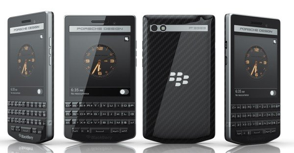 Blackberry Porsche
