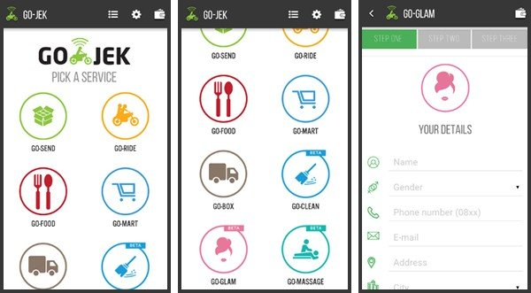 Go-jek, Indonesian Start-Up Company That Becomes Famous