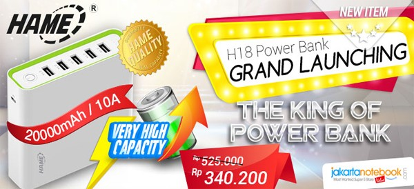 Hame H18 Powerbank header