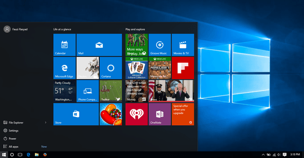 Gambar Desktop Windows 10