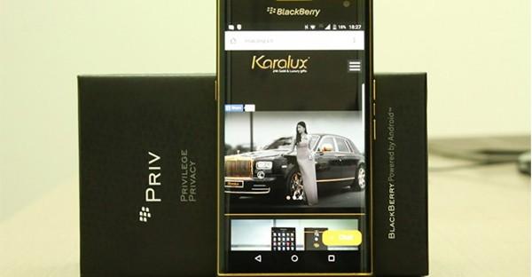 Blackberry Priv emas
