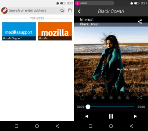 Gambar Browser Music Firefox OS Android APK