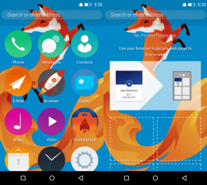 Gambar Home Firefox OS Android APK