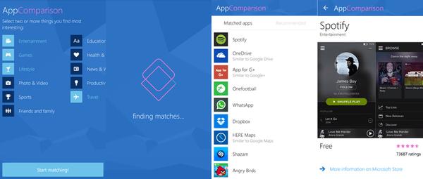 Gambar Aplikasi Microsoft AppComparisons