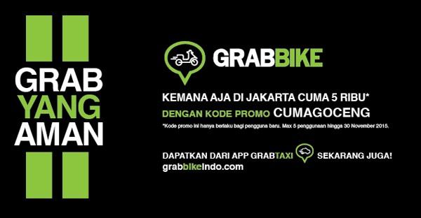 Grabbike Goceng 5000 Rupiah