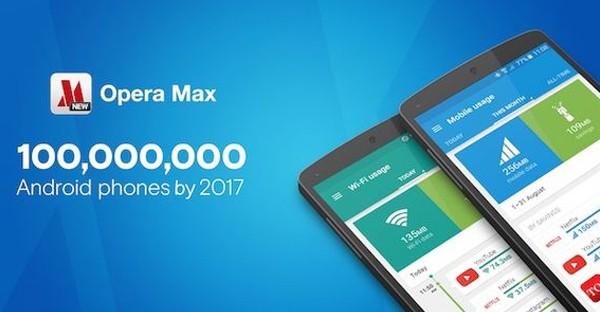 Opera Max 100 Juta Pengguna