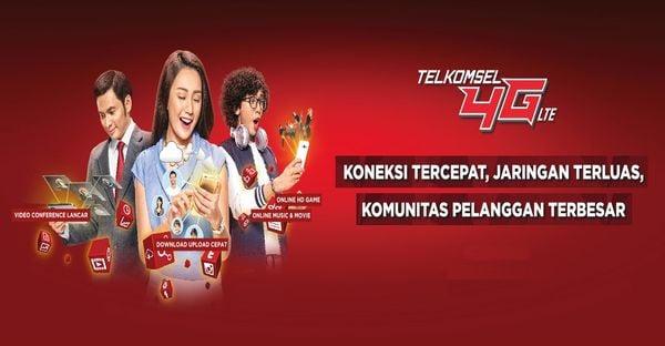 Gambar Header Paket Internet Telkomsel