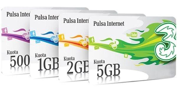 Paket Internet Tri 3 murah
