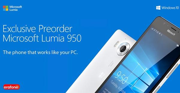 Pre order Lumia 950 Indonesia erafone