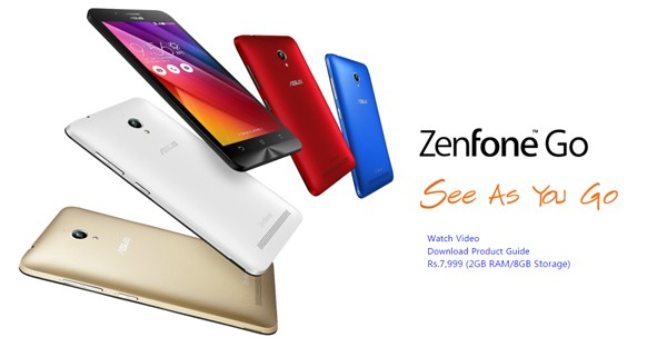 Zenfone Go all
