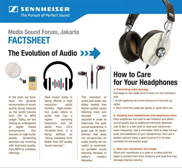 tips merawat headphone sennheiser