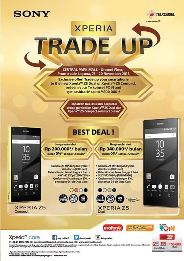 xperia trade up