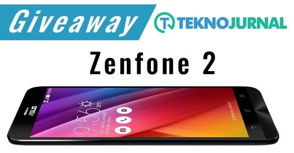 Giveaway TeknoJurnal Zenfone 2 RAM 4 GB