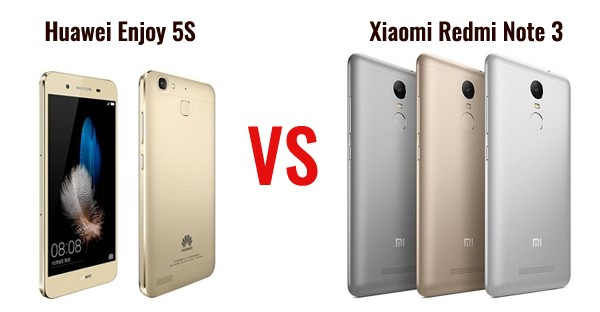 Huawei Enjoy 5S vs Redmi Note 3