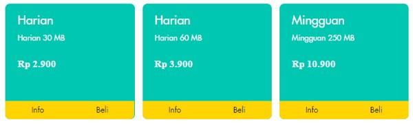 Paket Harian Bulanan Indosat Ooredoo