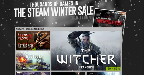 Steam Diskon 90 Persen Winter Sale