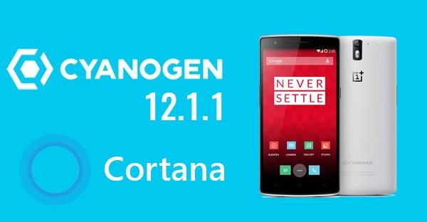 Cortana Cyanogen OnePlus One OK