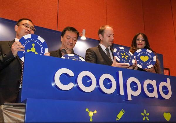 Logo baru Coolpad Petinggi