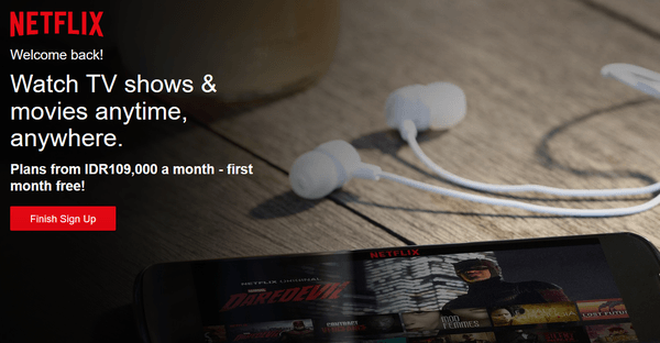 Gambar Home Netflix