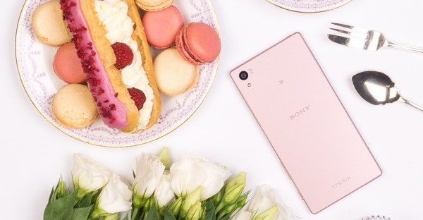 Sony Xperia Z5 Pink Header