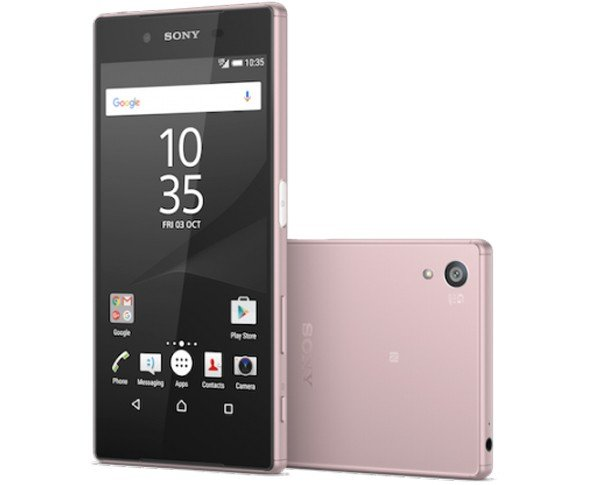 Xperia Z5 pink product