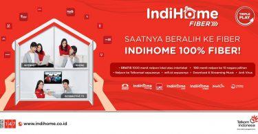 Banner Indihome Fiber Telkom