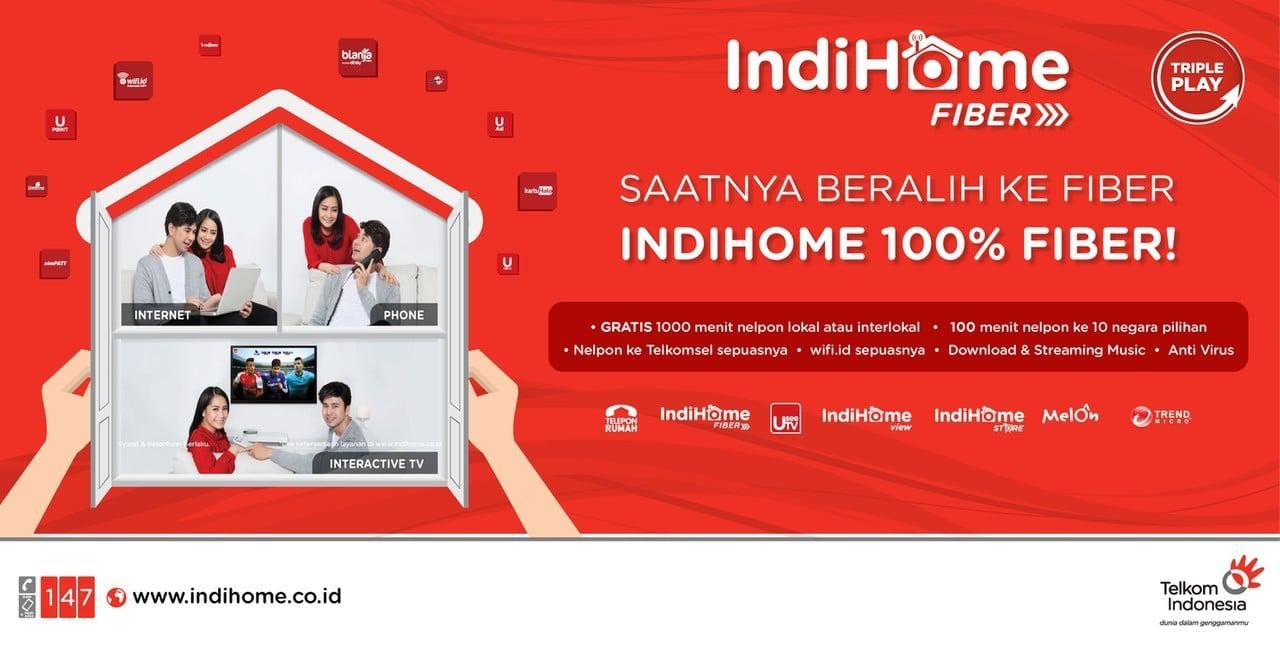 Daftar Harga Paket Indihome Speedy Telkom 2019 Header