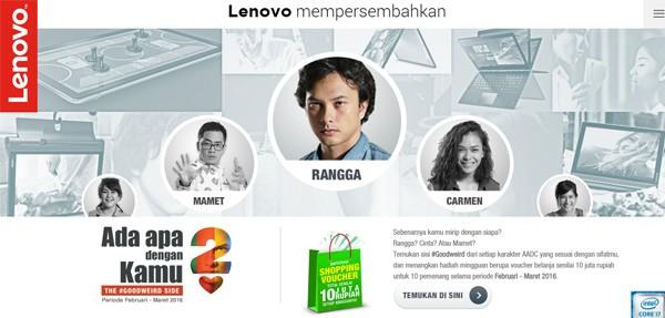 Lenovo Ada Apa Dengan Cinta 2