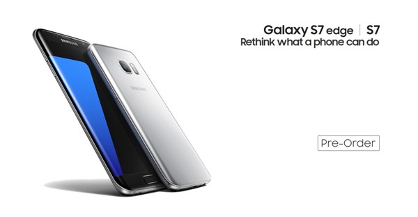 Samsung Galaxy S7 Edge Pre order