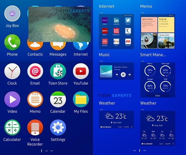 Tizen 24 Samsung Z1
