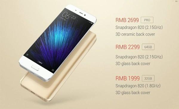 Xiaomi Mi 5 harga